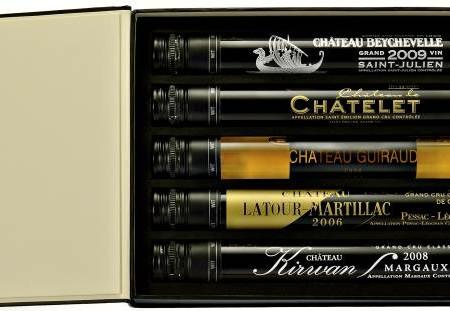 "Wines gift box: Bordeaux ""Les Grands Crus"""
