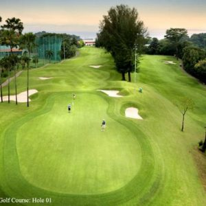 Keppel golf club Singapore