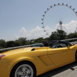 Gift for him: Experience a Super Car on the F1 route
