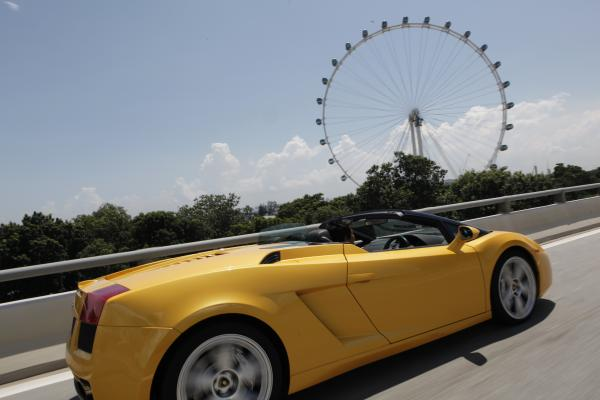 Experience A Super Car On The F1 Route Singapore
