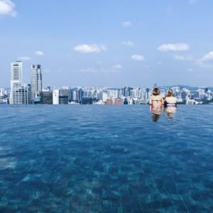 Infinity Pool Marina Bay Singapore